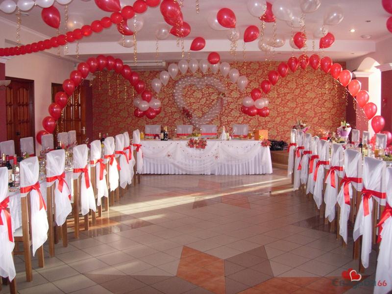 Оформить банкетный зал для свадьбы своими руками